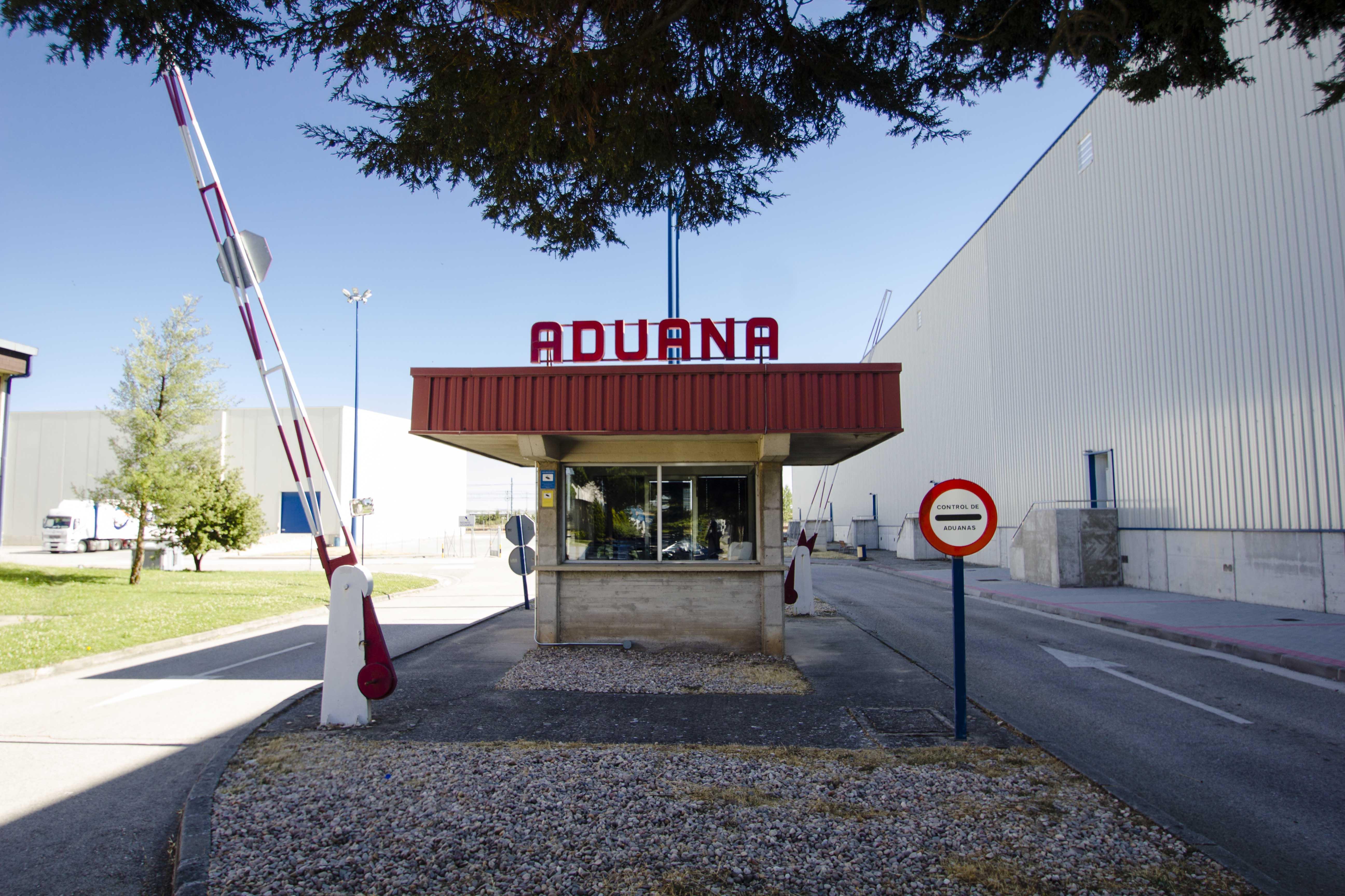 entrada aduana